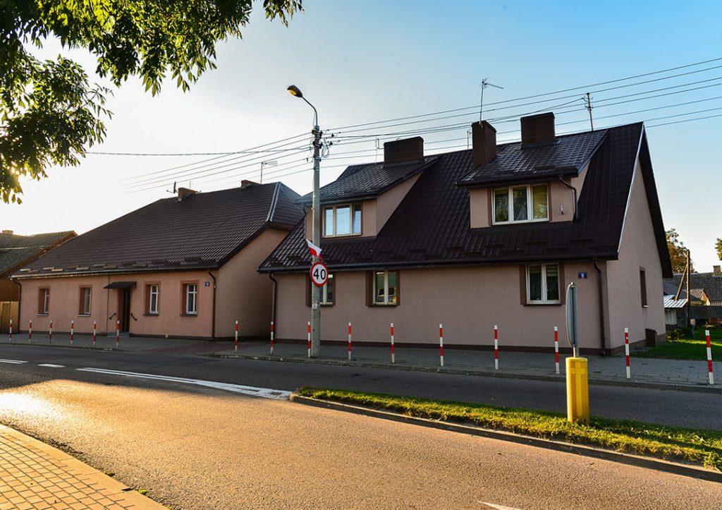 Budynki komunalne przy ul Sienkiewicza