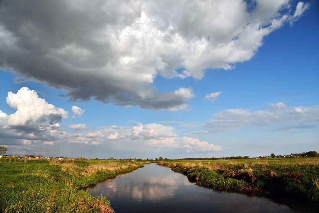 Rzeka Nurzec w Brańsku